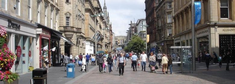 Gallus Lad - Glasgow Shopping - Buchanan Street