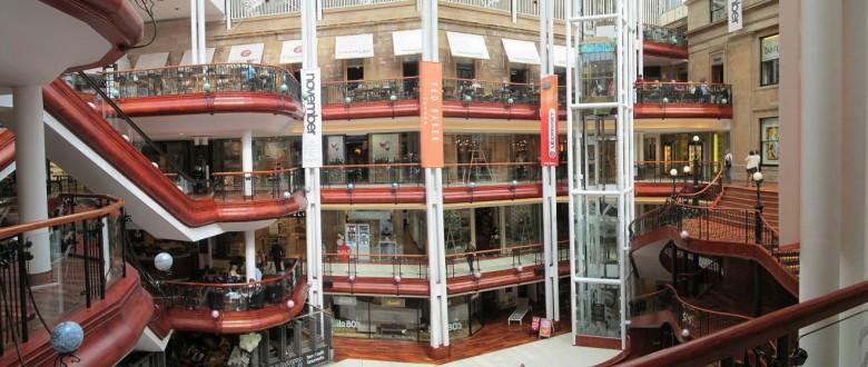 Gallus Lad - Glasgow Shopping - Princes Square