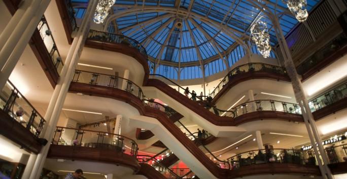 Gallus Lad - Glasgow Shopping - Princes Square1