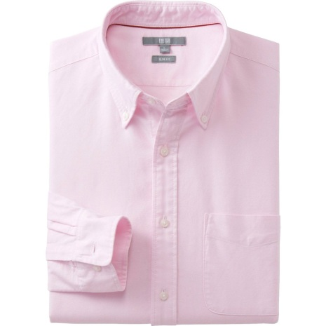 Gallus Lad - Spring - Uniqlo Pink Shirt
